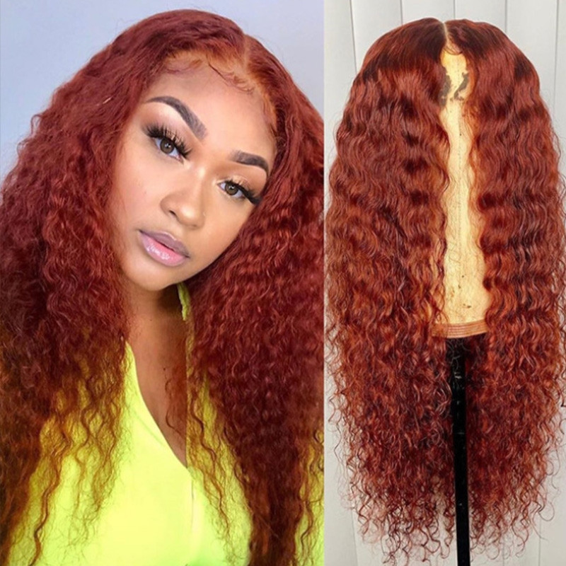Curly Human Hair Pre Plucked Full lace Wigs HD Transparent Lace 150% Density Glueless Lace Front Wigs