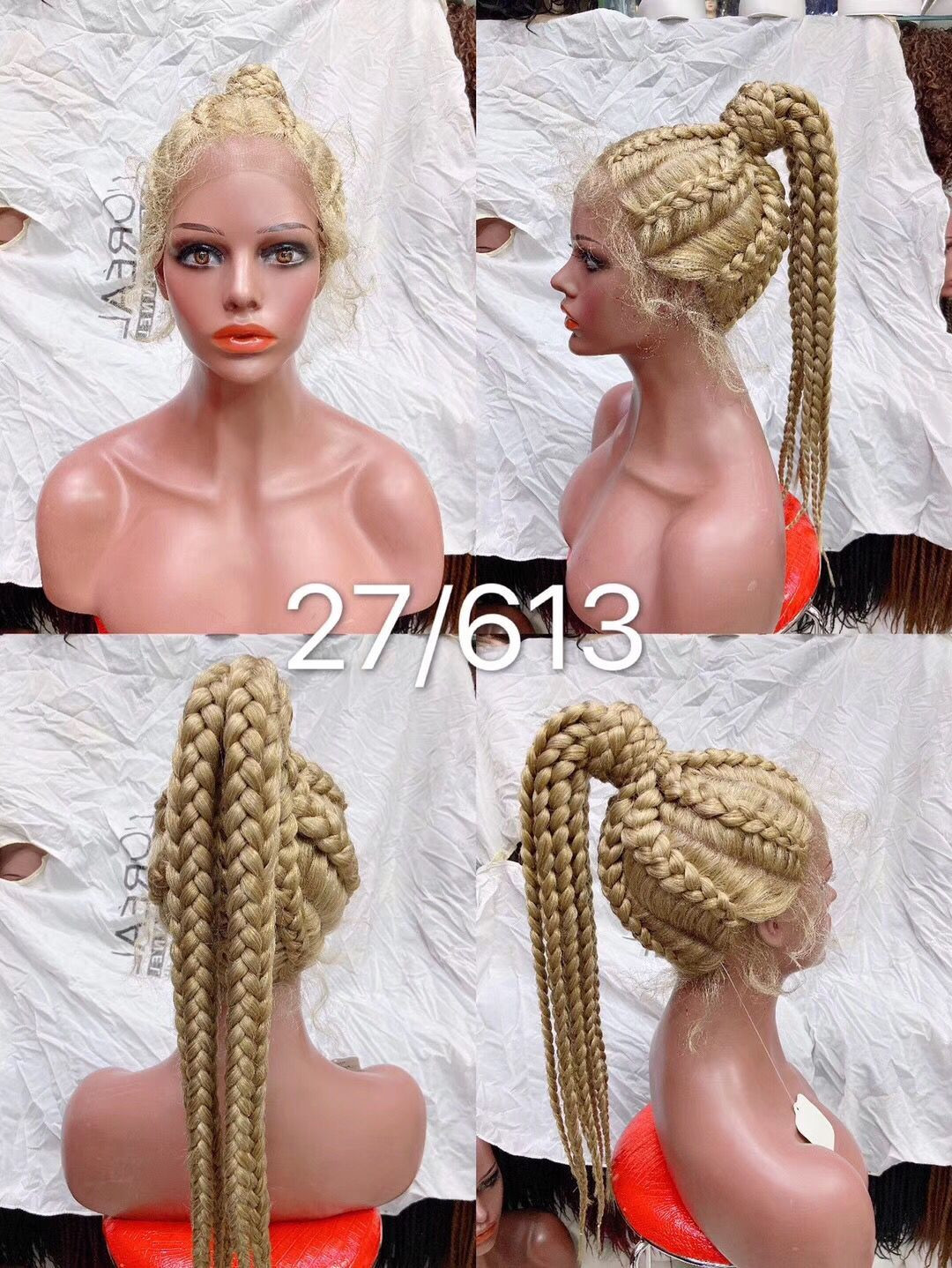 Wig Leader  Glueless Full Lace Wigs/Lace Front Wig /Parting lace wig 180% Density Braiding Lace Wigs