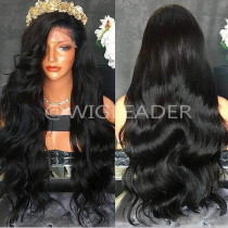 10a 180% Density Lace Front Wig Body Wave Virgin Human Hair wavy Color Full Lace Wigs Pre Plucked Hairline