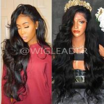 150% Density Virgin Human Hair Body Wave Lace Front Wigs Slay 13x4 Lace Front Wig Bleached Knots Glueless  Full Lace Wigs Preplucked