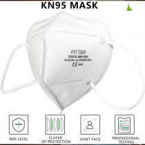 KN95 N95 Disposable Earloop Face Masks Air Filtration Mask Anti Dust Face Mouth Masks, 4 layers Great for Germs Protection and Personal Health