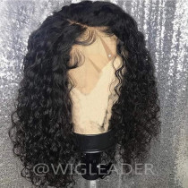 Lace Front wigs curly Peruvian remy Pre Plucked Full lace wig Bleached knots Glueless Lace wigs With Baby Hair